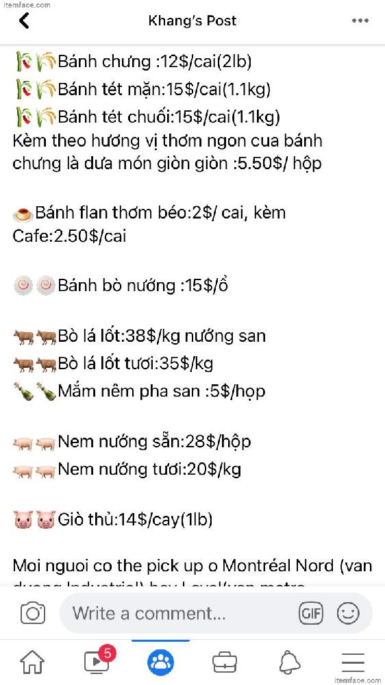 Khang Pham - Caterer