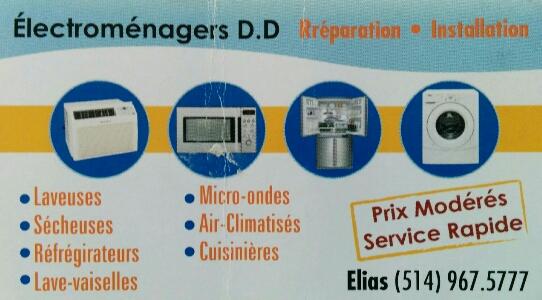Électroménagers D.D - Handyman