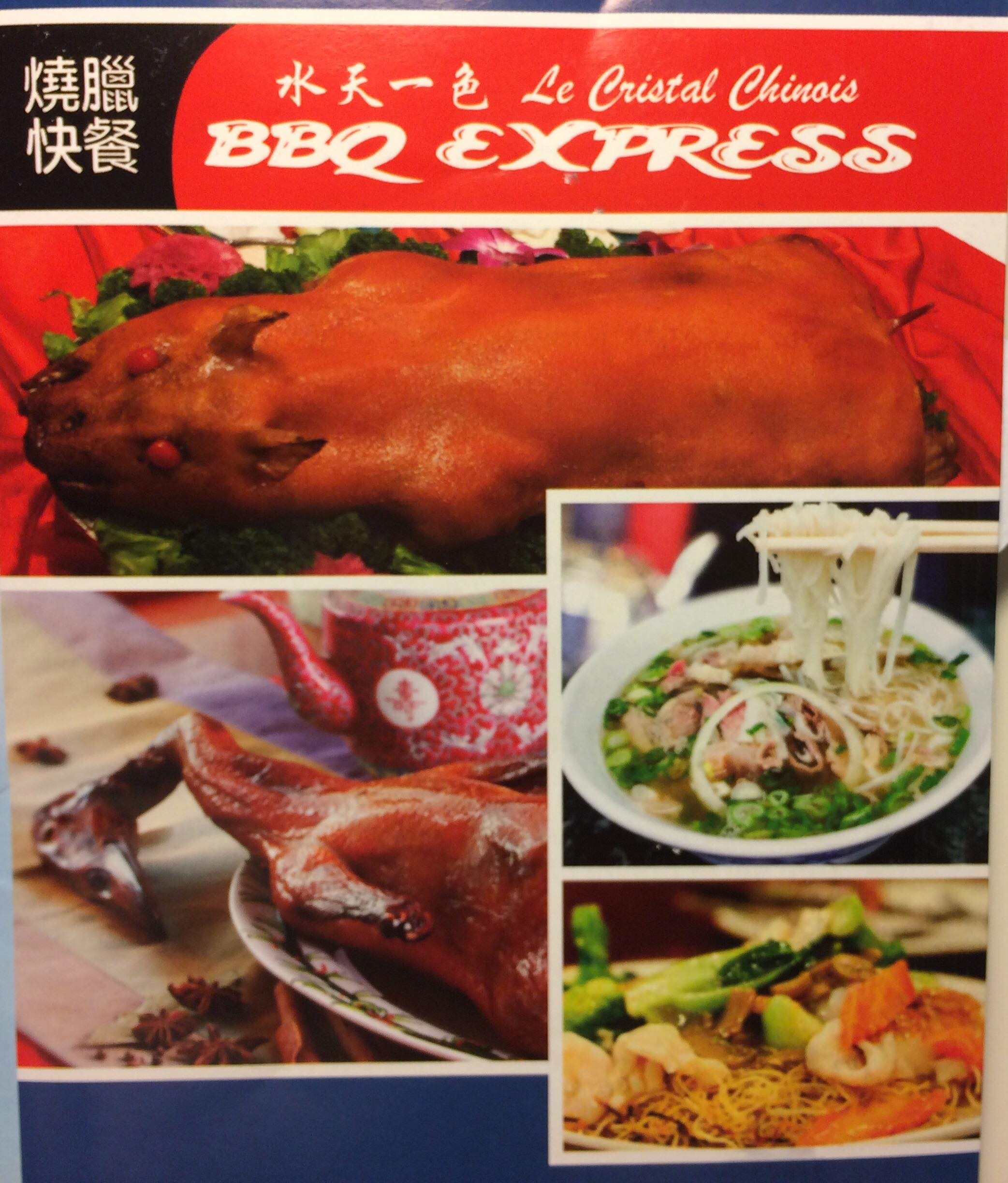 Le Cristal Chinois & BBQ Express - Restaurant