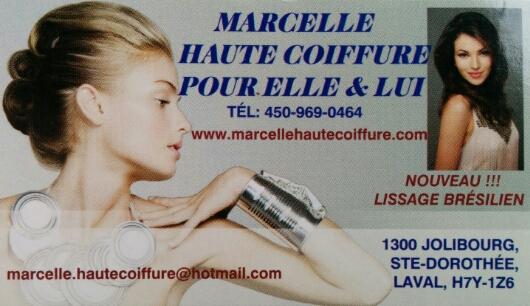 MARCELLE HAUTE COIFFURE - Hairdresser