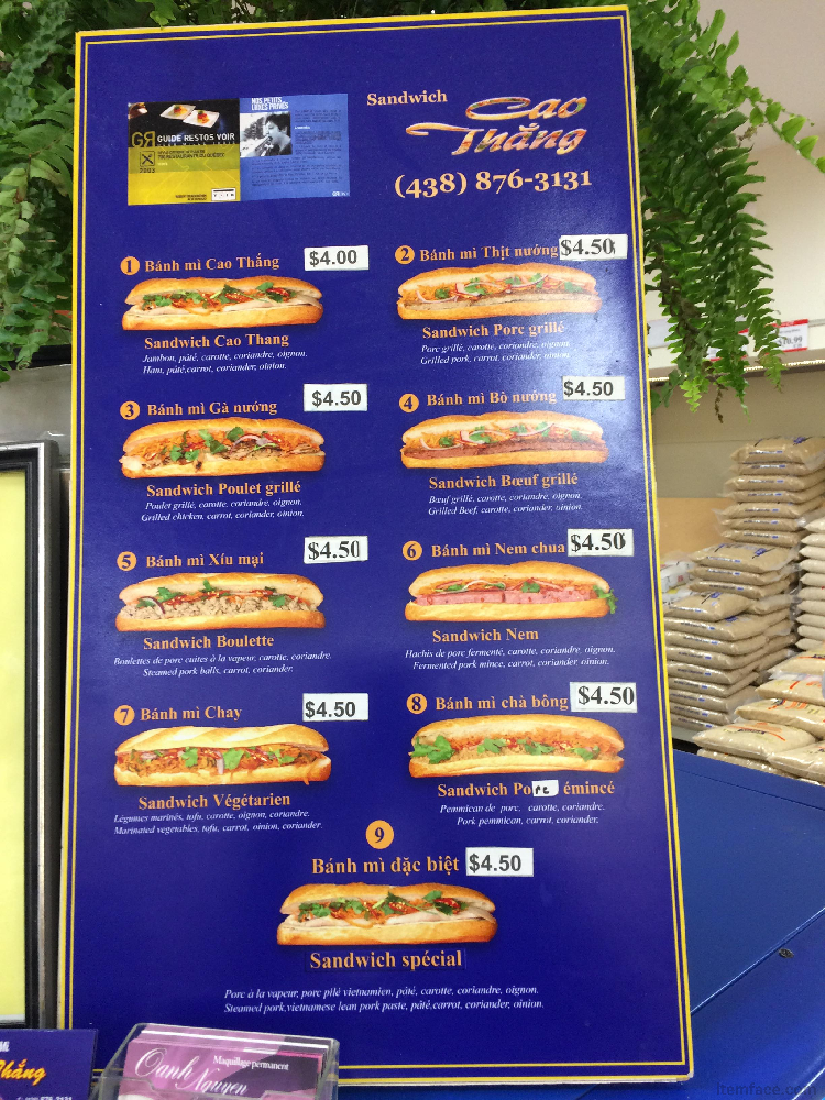 Cao Thang Sandwich - Restaurant